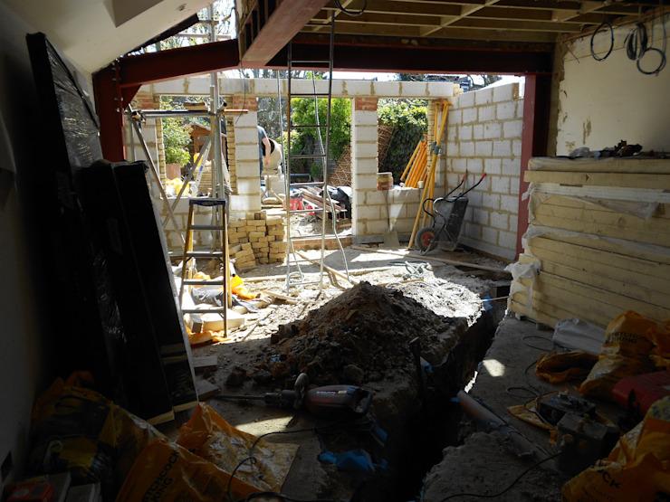 Fulham, Londres - extension arrière, conversion de loft et rénovation complète de la maison, y compris l'insertion d'une piscine par Zebra Property Group