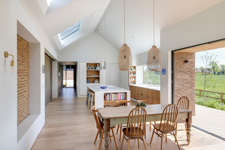 Écuries Loxley, 2019 Salon moderne par TAS Architects Modern