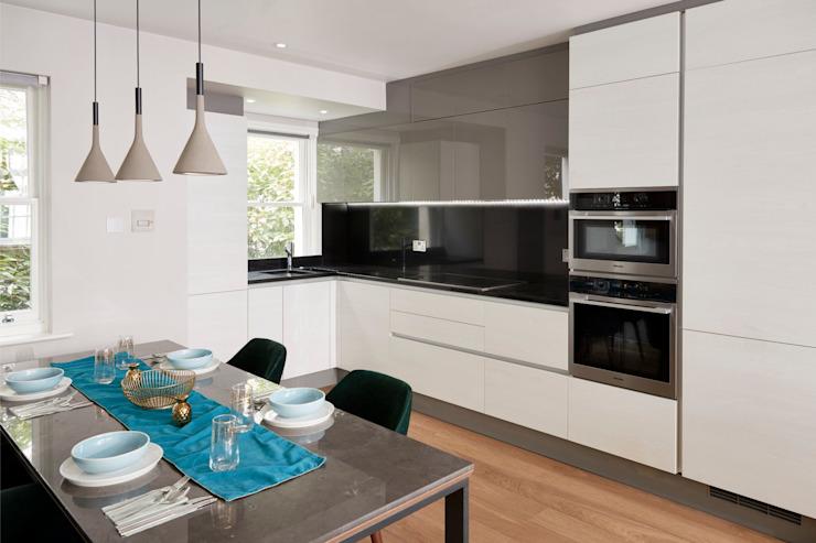Cuisine et salle à manger intelligentes par Urbanist Architecture Modern Metal