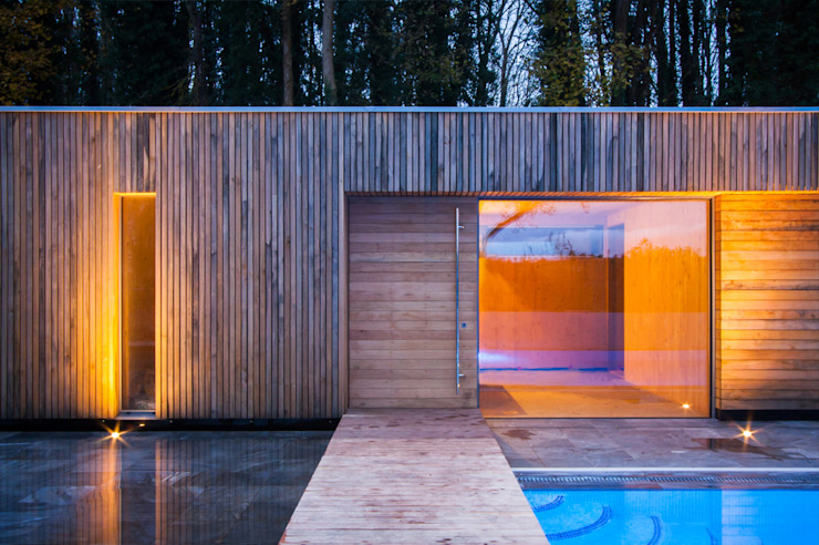 Bluebell Pool House Maisons modernes d'Adam Knibb Architects Modern