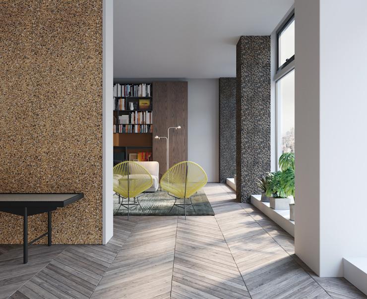 Hall d'entrée Maisons modernes par Go4cork Modern Cork