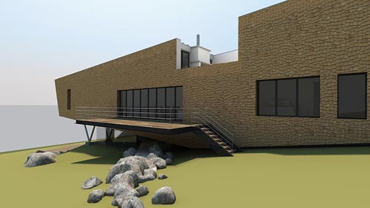 Maison en Nouvelle-Écosse : moderne par 4D Studio Architects and Interior Designers, Modern