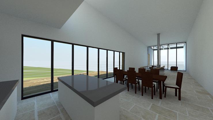 House In Nova Scotia, Canada Salle à manger moderne par 4D Studio Architects and Interior Designers Modern