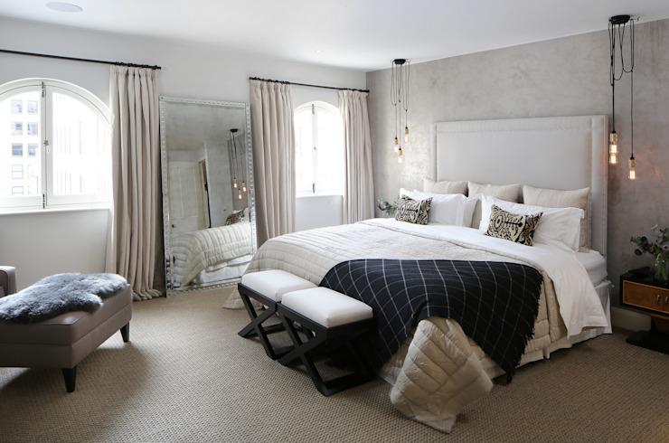 Penthouse de luxe à Londres Chambre de style moderne par Alex Maguire Photographie moderne