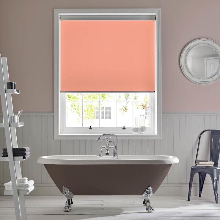 Palette Coral Roller Blind Modern salle de bain par Appeal Home Shading Modern