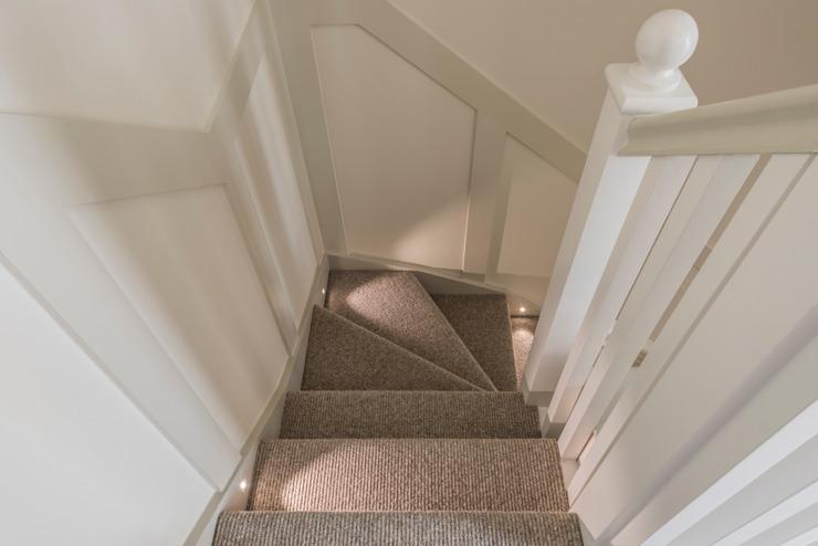 Escalier Couloir, couloir et escaliers modernes par Prestige Architects Par Marco Braghiroli Modern
