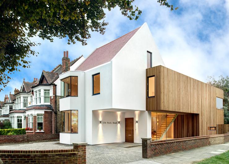 Maisons modernes résidentielles de MZO TARR Architects Modern