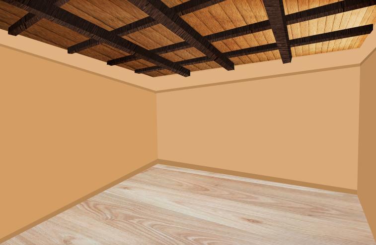 Plafonds à caissons