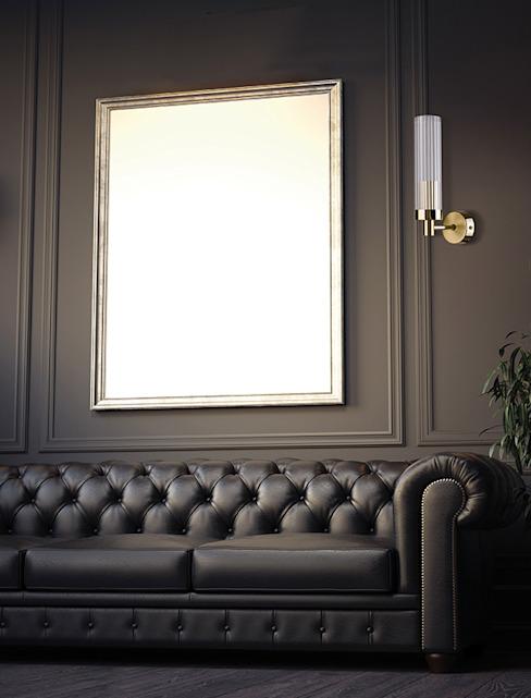 Applique murale SETI en laiton avec abat-jour en verre Salle à manger de style classique par Chandelier de luxe Cuivre/bronze/laiton classique