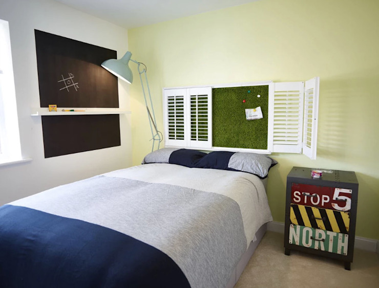 La chambre d'enfant à la craie Chambre de style éclectique par Aorta : le coeur de l'art éclectique