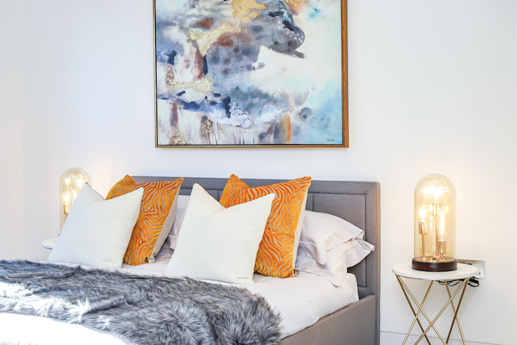 Dulwich Townhouse Bedroom par LJ Interiors Modern