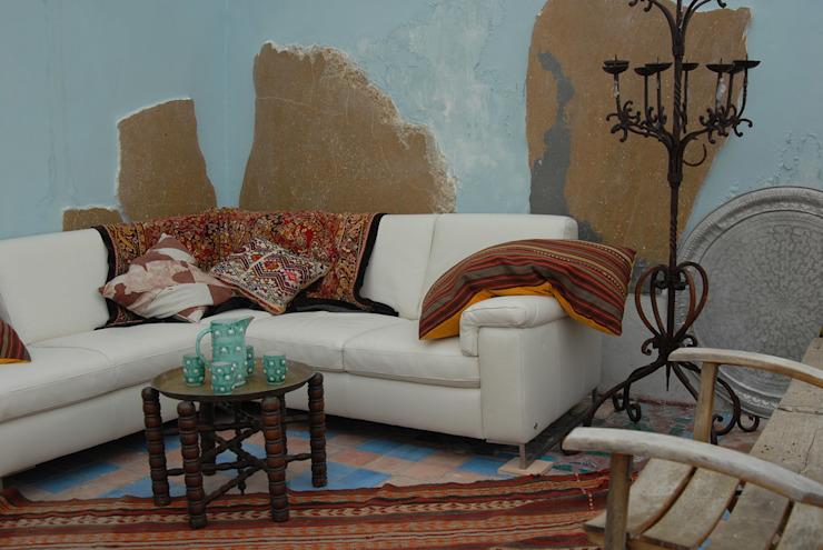 Veranda Lounge Salon de style méditerranéen par homify Mediterranean