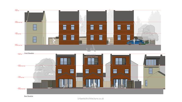 Conception par Urbanist Architecture Modern Bricks