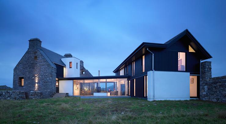 Vue extérieure Maisons modernes par WT Architecture Modern