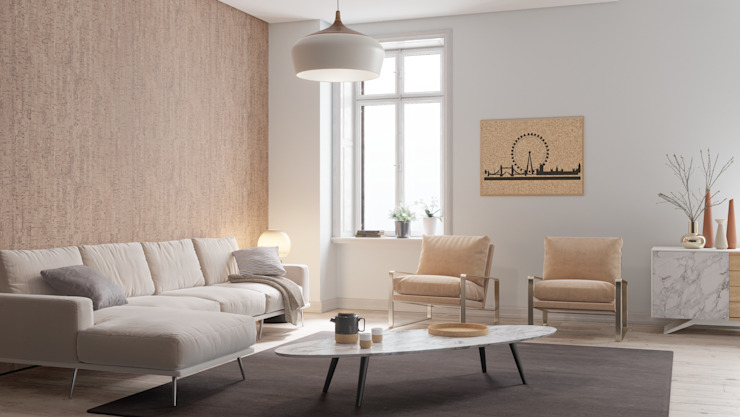 Salon Salon moderne par Go4cork Modern Cork