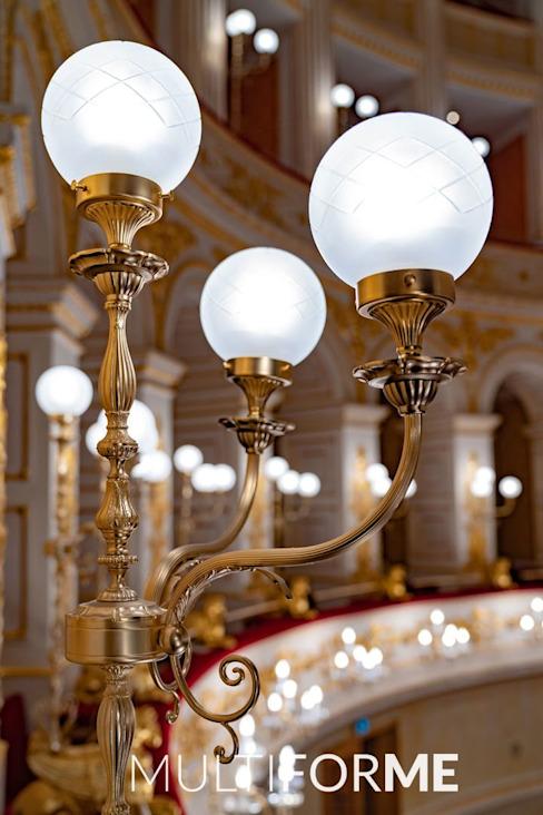 Théâtre Galli, Rimini Classic, lieux d'événements par MULTIFORME® lighting Classic