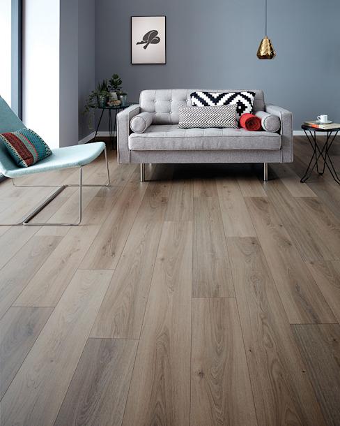 Wembury Nordic Oak Murs et sols modernes par Woodpecker Flooring Modern Wood Effet bois