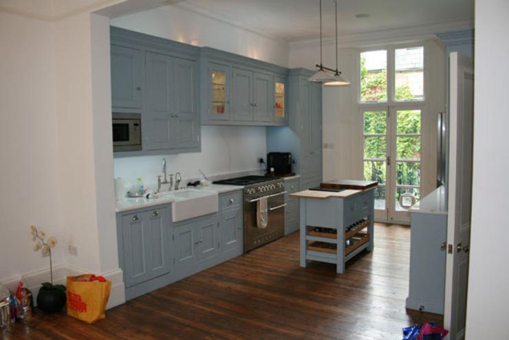 Notting Hill Apartment Cuisine de style éclectique par 4D Studio Architectes et décorateurs d'intérieur éclectiques