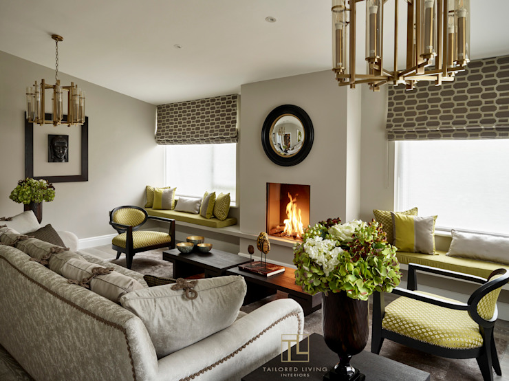 Living Room Modern living room par Tailored Living Interiors Modern
