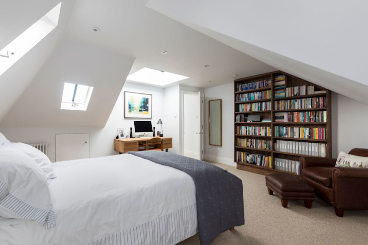 Chambre à coucher de style moderne par Resi Architects à London Modern