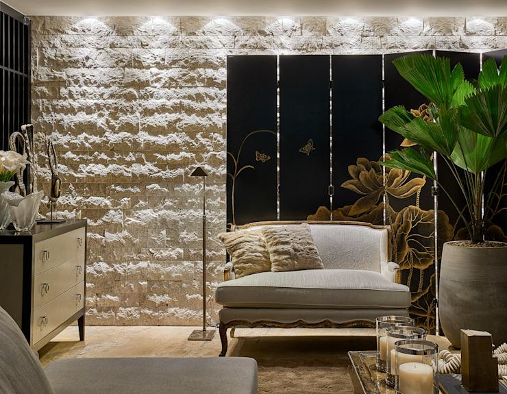 Salon de style rustique par Gláucia Britto Rustic
