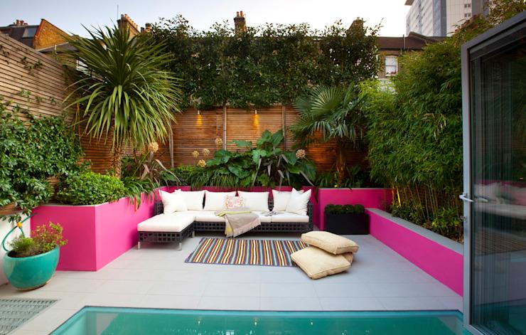Jardin de style marocain Jardin de style méditerranéen par Gullaksen Architects Mediterranean