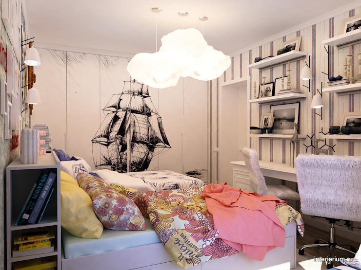 Chambre d'enfant de style méditerranéen par INTERIERIUM Méditerranée