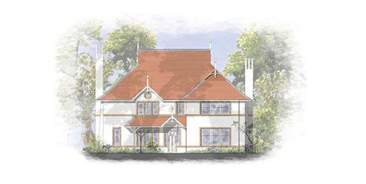 Conception de maisons traditionnelles pour les sites du Hampshire Maisons de style classique par 4D Studio Architects and Interior Designers Classic