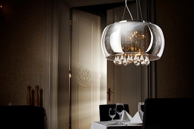 Luminaire de luxe à pendentif avec cristaux Salle à manger moderne par Luxury Chandelier Verre moderne