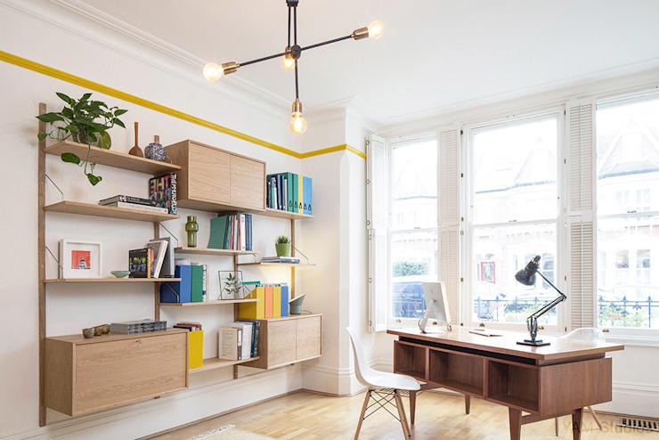 Clerkenwell House 01 Bureau/étude de style éclectique par YAM Studios Eclectic