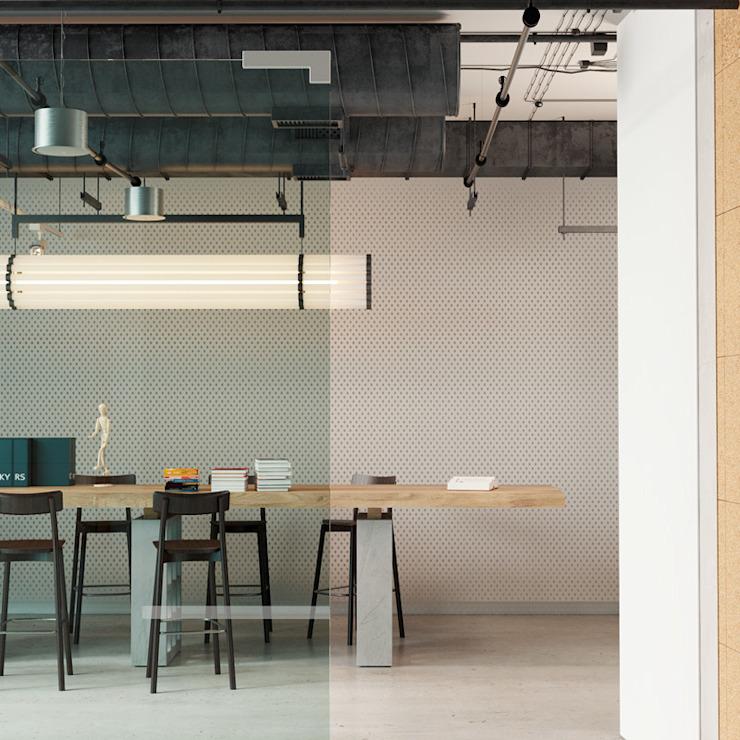 Matériaux de construction de bureaux Salon moderne par Go4cork Modern Cork