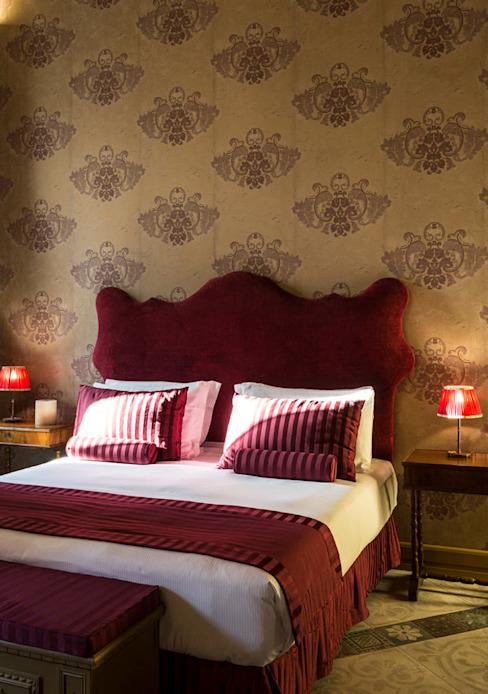 Design d'intérieur - Chambre à coucher - Hôtels Rome Classic par ARTE DELL' ABITARE Classic
