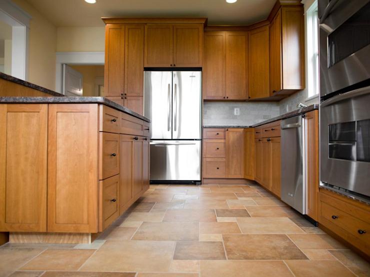 Le sol en vinyle dans la cuisine par Johannesburg Laminate Flooring