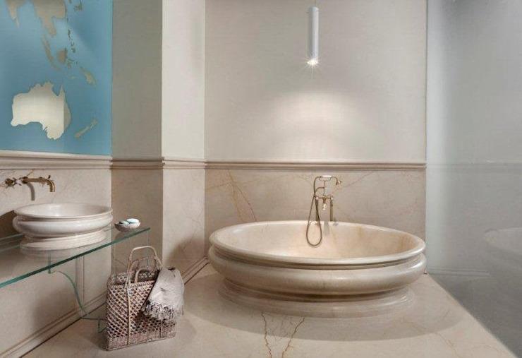 Salle de bain moderne par CusenzaMarmi Modern