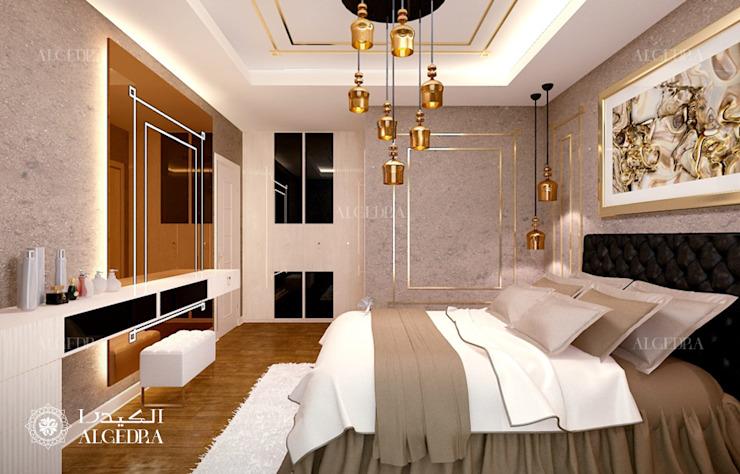 Aménagement d'une petite chambre dans une villa de luxe par Algedra Interior Design Modern
