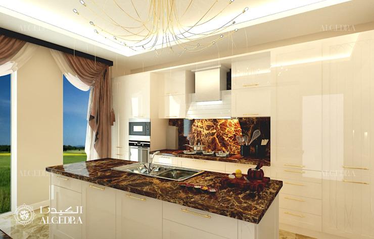 Design d'intérieur dans une villa de luxe Cuisine moderne par Algedra Interior Design Modern