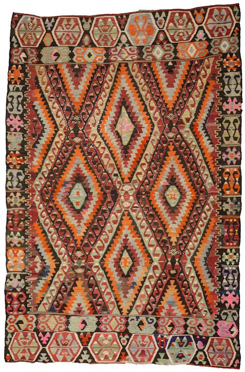 classique de la Heritage Nomadic Art Gallery, Classic Wool Orange