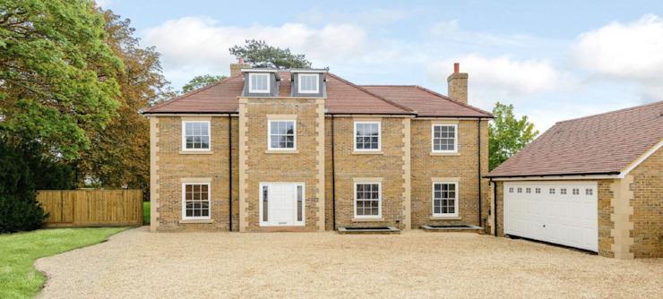 4 maisons de luxe dans l'Oxfordshire Maisons modernes par D&N Construction Limited Modern