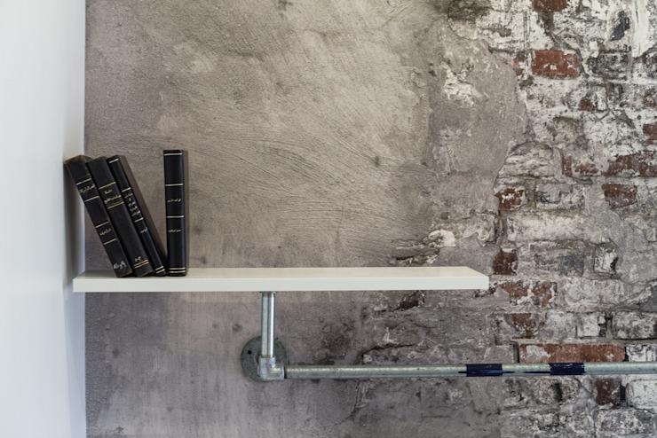 Étude industrielle Murs et sols de style industriel par Aorta : le cœur de l'art Béton industriel