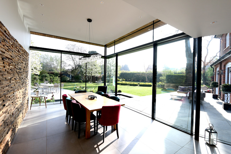 Projet : No.10 Modern windows & doors by IQ Glass UK Modern