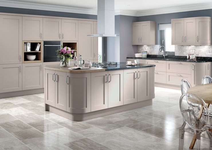 Oxford Cashmere Fitted Kitchens London : modern by Metro Wardrobes London, Modern