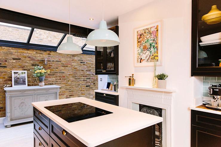 La cuisine lumineuse de Resi Architects dans London Modern