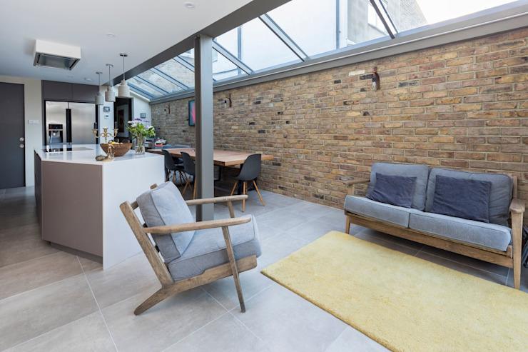 Espace de vie Salon moderne par Resi Architects à Londres Modern