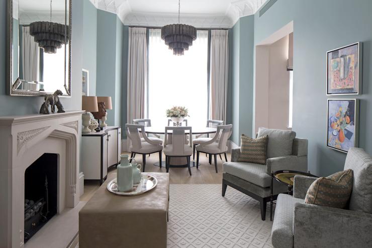 Salon et salle à manger Salon de style classique par Roselind Wilson Design Classic