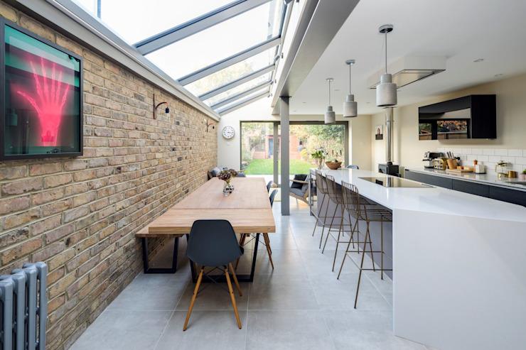 Salle à manger Minimaliste par Resi Architects à Londres Minimaliste