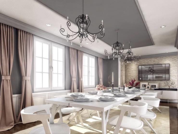 Yunus Emre | Design d'intérieur Salle à manger moderne par VERO CONCEPT MİMARLIK Moderne