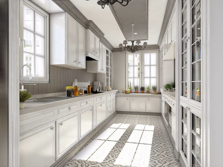 Yunus Emre | Design d'intérieur Cuisine moderne par VERO CONCEPT MİMARLIK Moderne