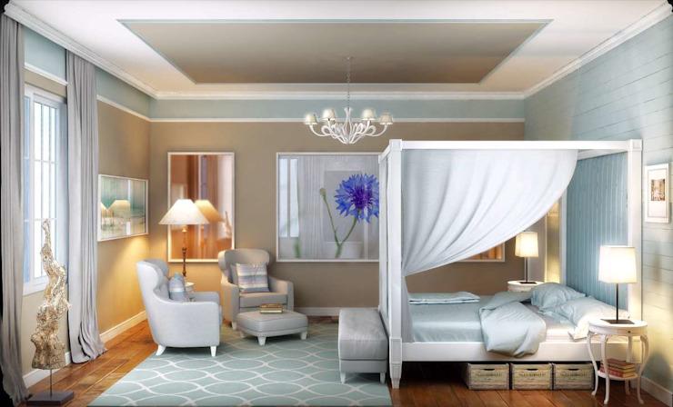 Yunus Emre | Design d'intérieur Chambre à coucher de style moderne par VERO CONCEPT MİMARLIK Moderne
