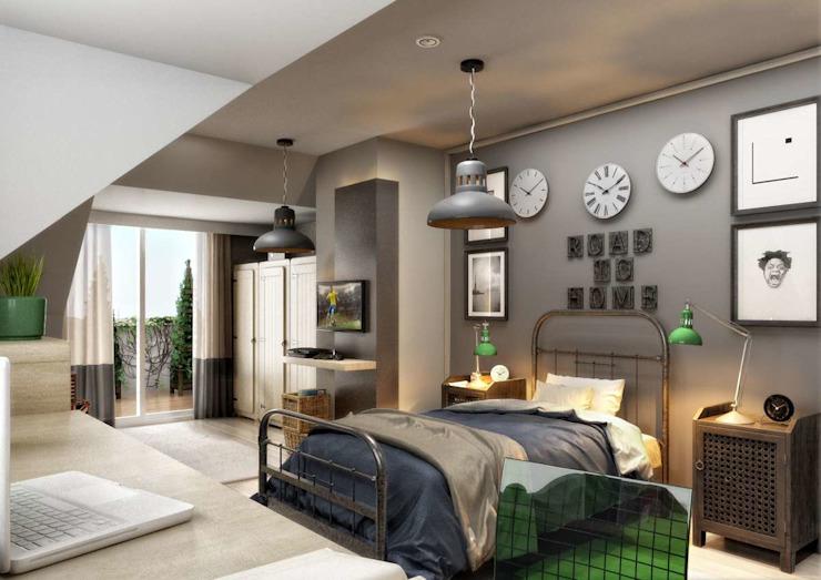 Yunus Emre | Design d'intérieur par VERO CONCEPT MİMARLIK Moderne
