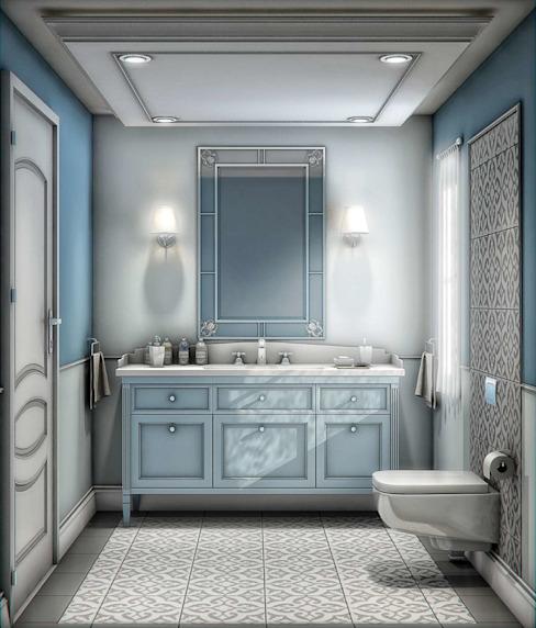 Yunus Emre | Design d'intérieur Salle de bains moderne par VERO CONCEPT MİMARLIK Moderne